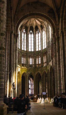 Kirche der Abtei Mont-Saint-Michel