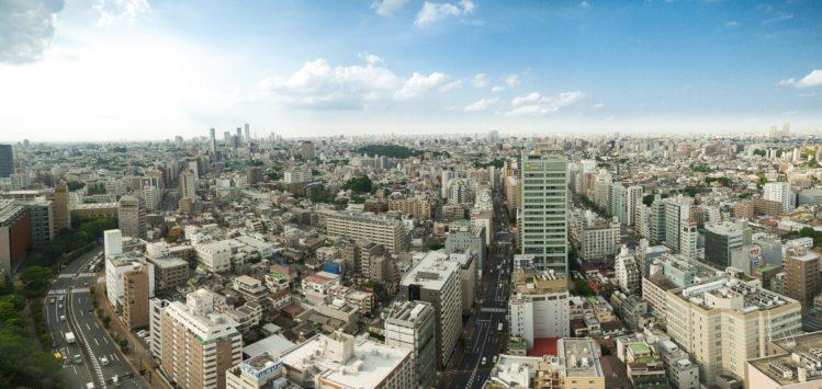 Aussichtsplattform Civic Center - Skyline Tokio mit Blick auf Shinjuku
