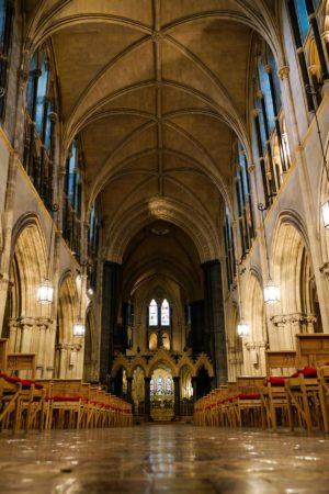 Hauptschiff der Christ Church Cathedral in Dublin