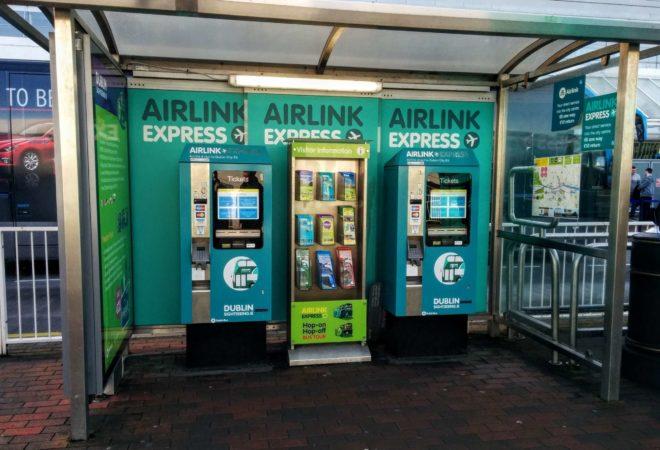 Fahrkartenautomaten Airlink Express Dublin