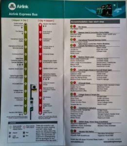 Fahrplan Airlink Express Dublin - Innenseiten