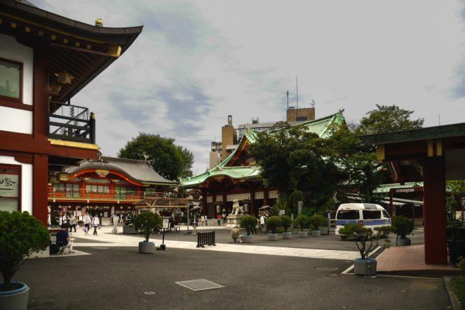 Kanda Myojin Schrein in Akihabara