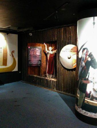 Wikingerbereich im Museum Dublinia