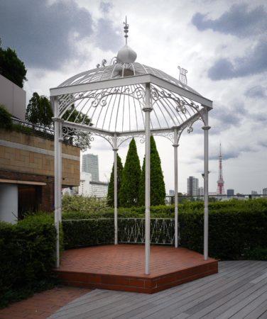 Pavillon mit Tokyo Tower