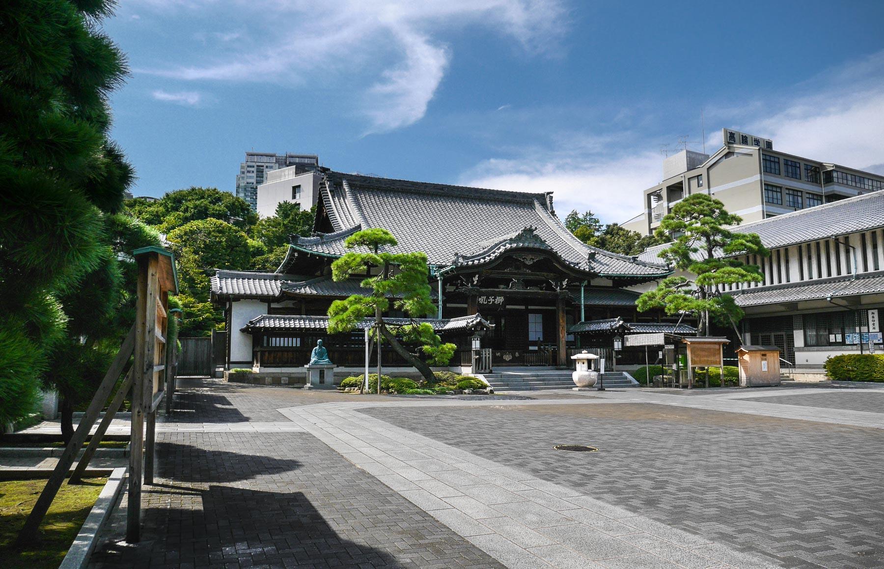 Sengakuji Tempel in Shinagawa