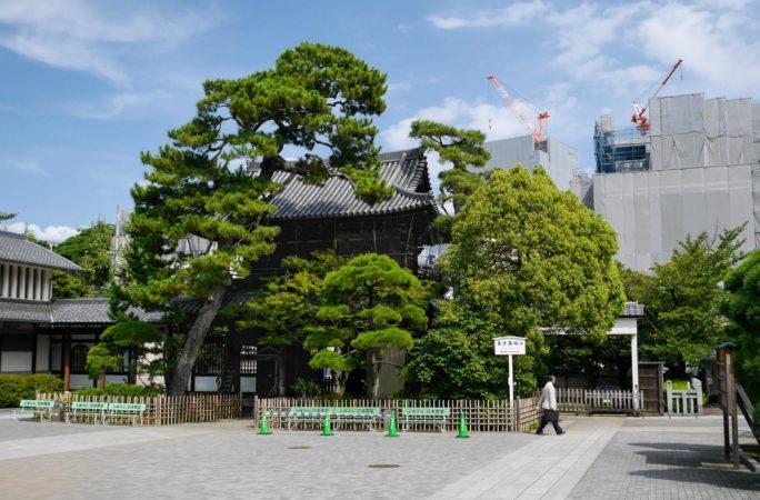 Eingangstor des Sengakuji Tempel in Shinagawa