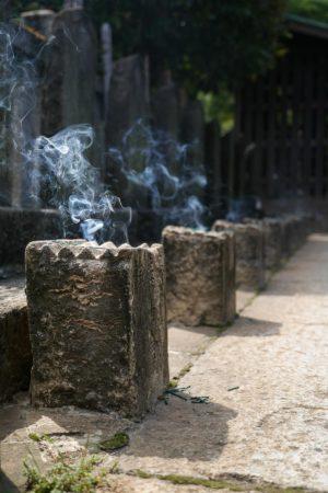 Gräber der 47 Ronin im Sengakuji Tempel in Shinagawa