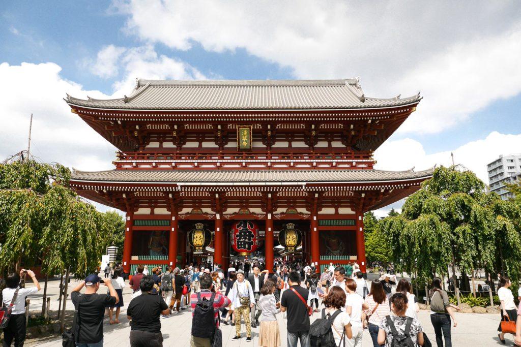Senoji Tempel in Asakusa