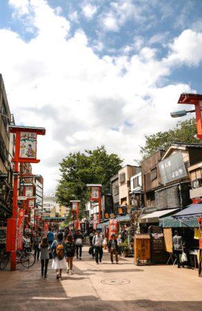 Denbouin Straße in Asakusa