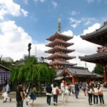 Pagode des Sensoji Tempel in Asakusa