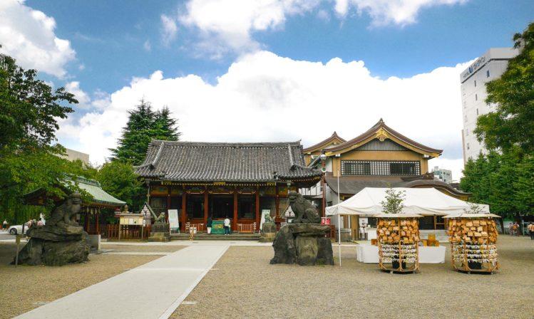Schrein beim Sensoji Tempel