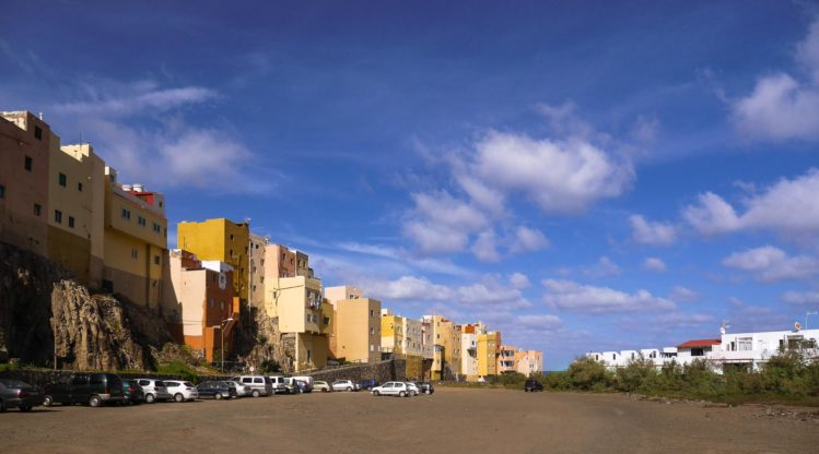 Parkfläche neben El Roque