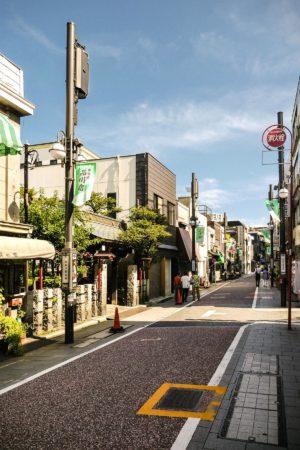 Tokaido Straße in Shinagawa