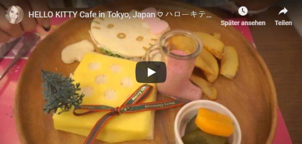Video von Hello Kitty Cafe in Tokio