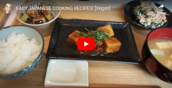 Video von japanischem Kochen in Familie in Tokio