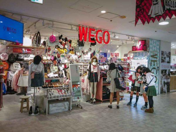 Wego Store in Shibuya 109
