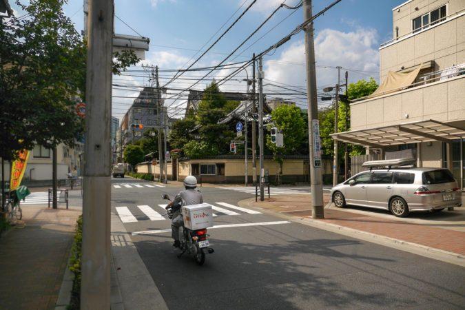 Motorroller in Asakusa