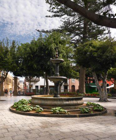 Springbrunnen in Galdar