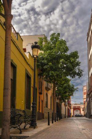 Gasse in der Altstadt von Galdar