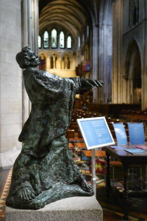 St. Patrick Statue in Dublin