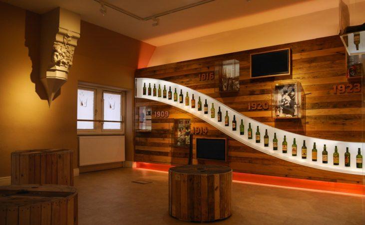 Whiskeyflaschen im Whiskey Museum