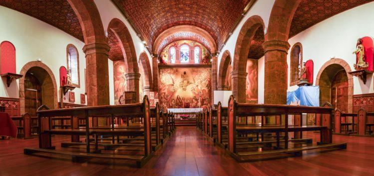 Inneres der Kirche Iglesia San Matias