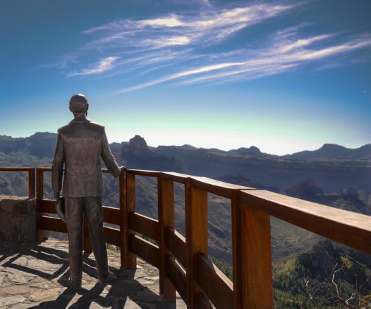 Aussichtspunkt Miradore de Unamuno in Artenara
