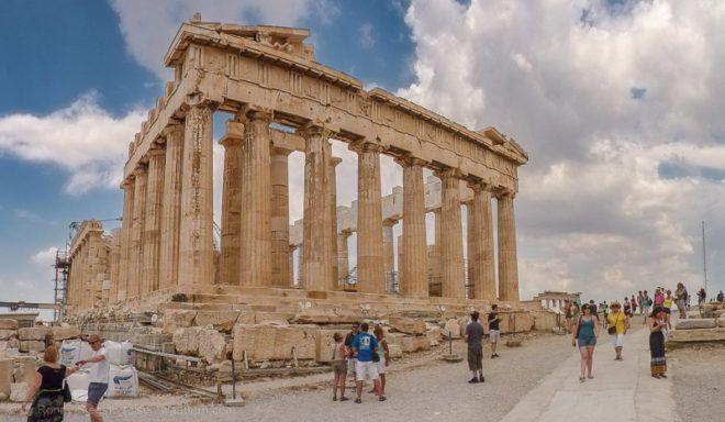 Bild: Parthenon auf der Akropolis