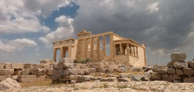Foto: Erechtheion bei der Akropolis