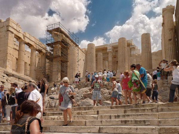 Foto: Propyläen bei der Akropolis