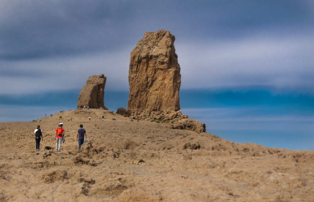 Plateau mit Roque Nublo