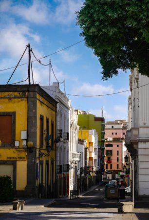 Straße in der Altstadt von Las Palmas