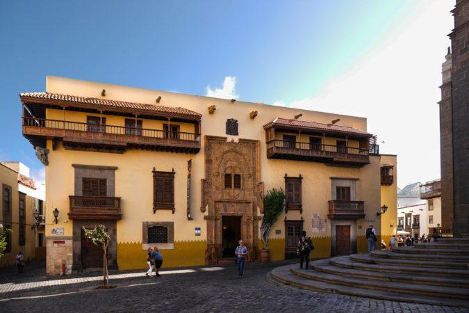 Casa de Colón in Las Palmas