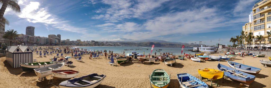 Strand Las Canteras in Las Palmas