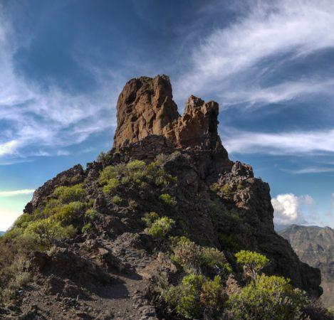 Massiv Roque Bentayga auf Gran Canaria