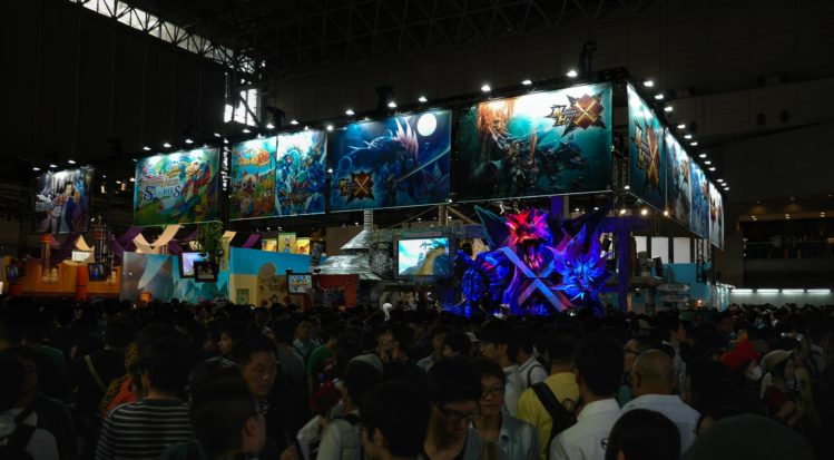 Tokyo Game Show Messestand