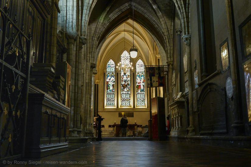 St. Patricks Kathedrale in Dublin Innenansicht