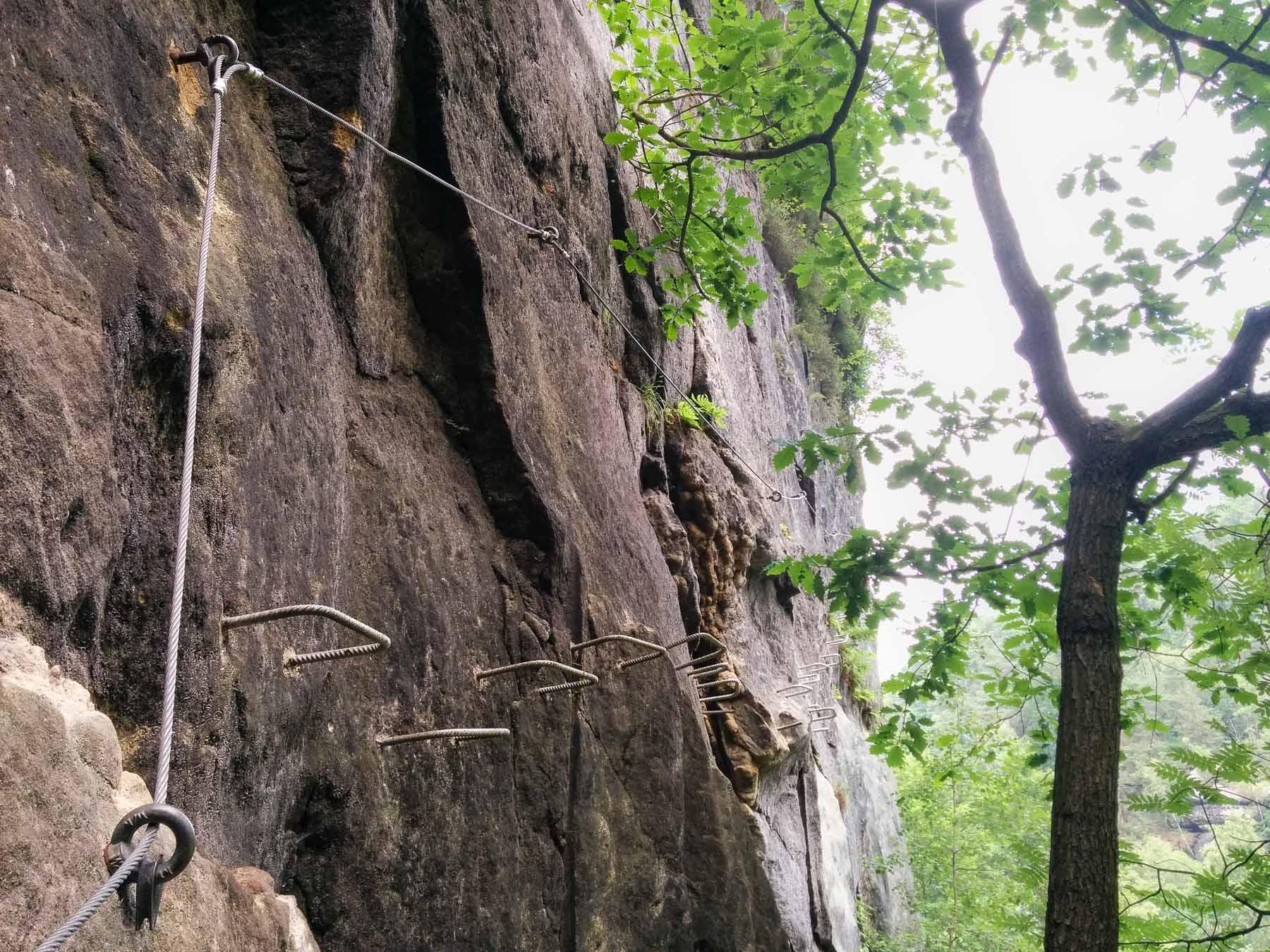 Klettersteigset Welches : Klettersteig ochelbaude » perfekt geeignet für anfänger