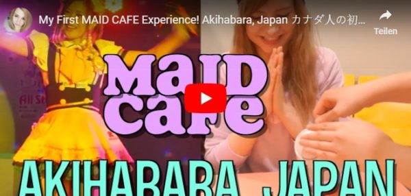 YouTube Video Maid-Cafe in Akihabara