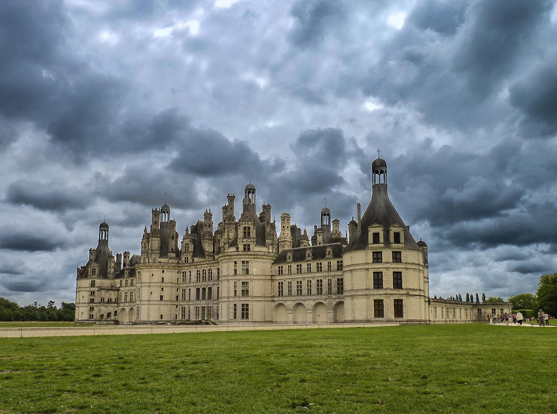 Schloss Chambord in Frankreich an der Loire