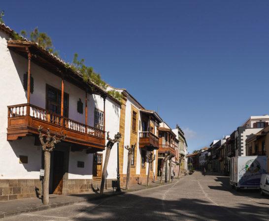 Straße in der Altstadt von Teror