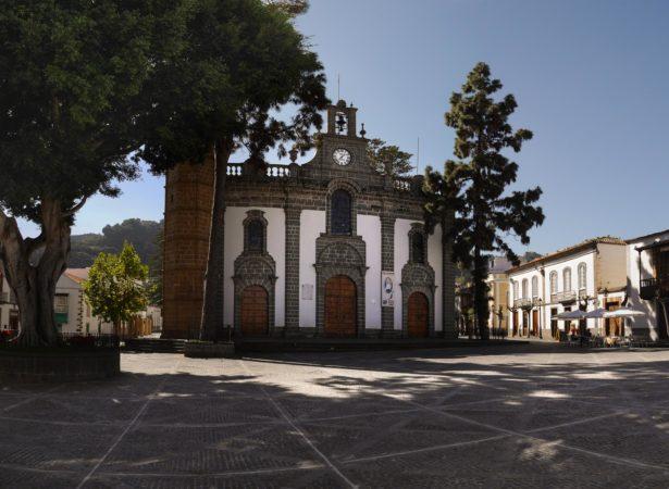 Basilika von Teror - Außenansicht
