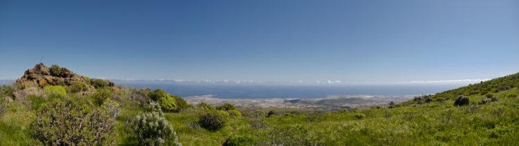 Panoramablick auf den Osten von Gran Canaria