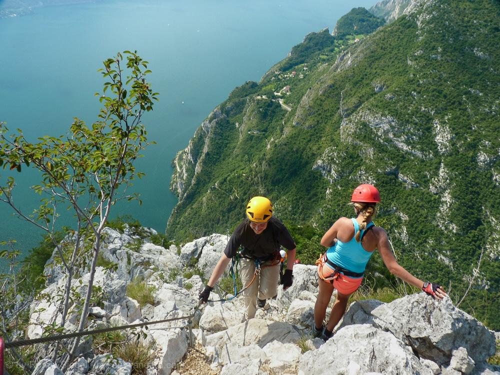 Klettersteig Riva Del Garda : Colodri klettersteig am monte colt in arco bei riva del garda