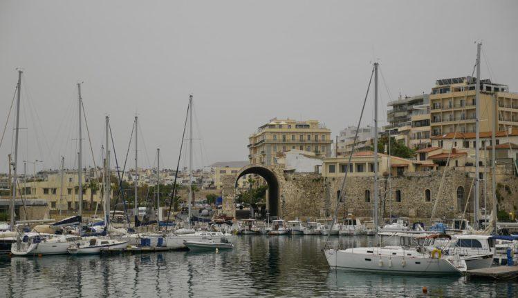 Reste des venezianischen Hafen in Heraklion