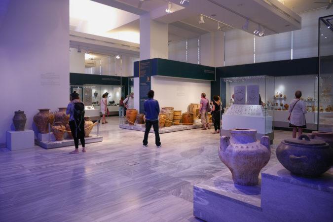 Ausstellungsräume des archäologischen Museum in Heraklion