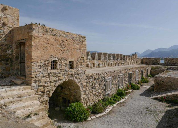 Innenhof einer kleinen Festung
