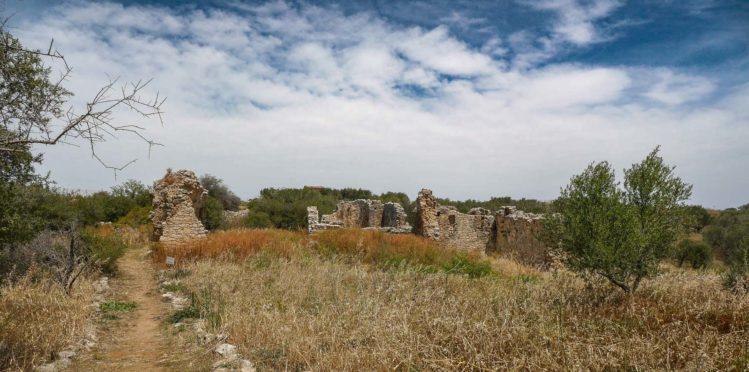 Überreste eines römischen Bad