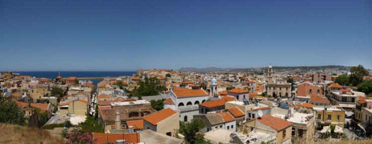Panorama von Chania