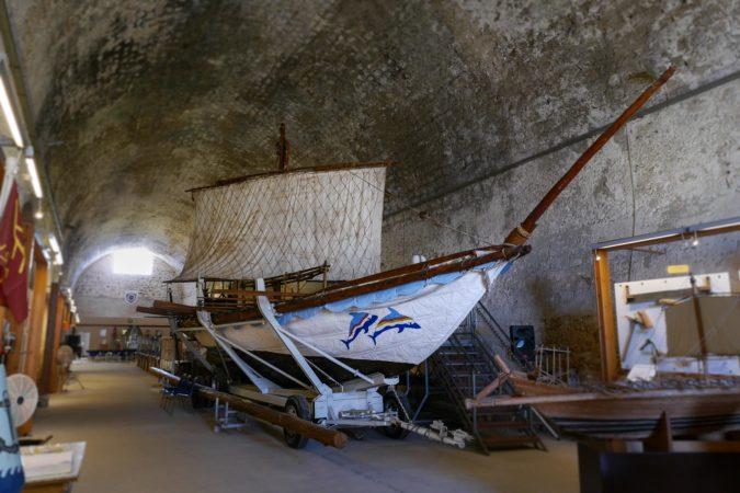 Original Nachbau eines minoischen Schiffes